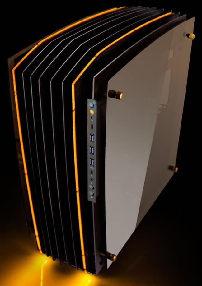 gaming pc casing